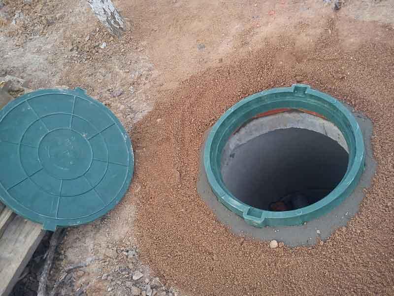 Люк для канализационного колодца своими руками 5