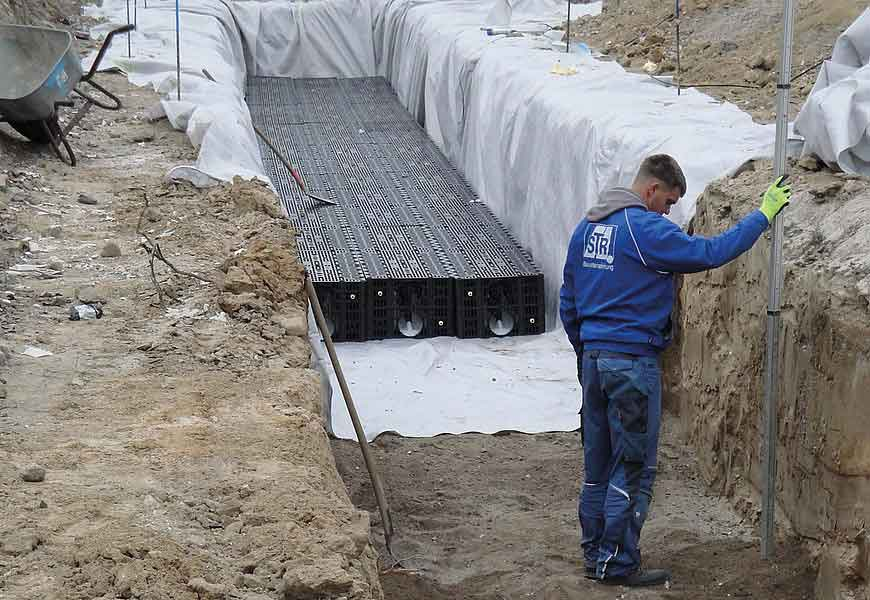 Дренажные блоки и тоннели - цены, купить дренажные блоки и тоннели в интернет-магазине