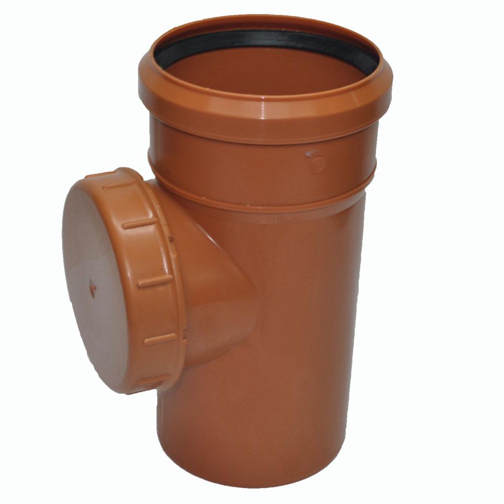 ? Ревизия канализационная ПВХ диаметр 150 мм купить в Москве низкие цены