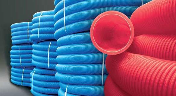 ? Труба гофрированная двустенная гибкая SN 6 диаметр 200 мм купить в Москве низкие цены